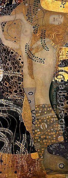 Water Serpents I by Gustav Klimt