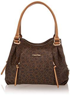 ced18db6be59 Calvin Klein Monogram Shopper Shoulder Bag Calvin Klein Handbags