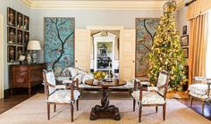 Designer Suzanne Rheinstein  grew up in New Orleans where her Christmases were grandiose and full of glamour. Known for creating timeless in...