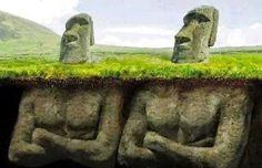 ( ALIENS ANTIGOS CONSTRUTORES ) Mistérios Não Resolvidos o Segredo da Ilha de Páscoa