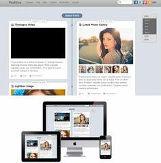 Themify Postline Demo - Facebook Timeline WordPress Theme http://www.awordpressthemesreview.com/themify-postline/ #WordPress