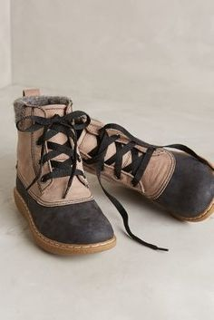 All Black Weather Booties Taupe Boots  #anthrofave #anthropologie
