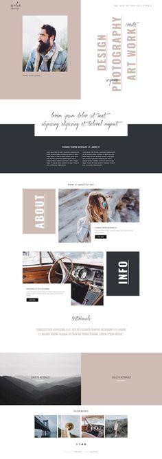 250 best blog design inspiration images blog design inspiration rh pinterest com