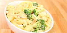 Broccoli Cheddar Chicken Shells
