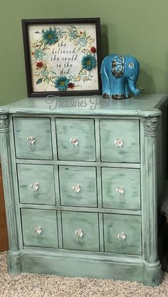 I would add some tall legs and ornate trim