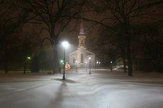 Westfield, New Jersey Winter Storm