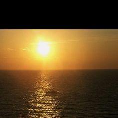 Mediterranean sunset!