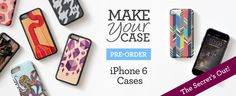 SWEET! $6 Off Your iPhone 6 Case!     Make Your Case, Pre-Order Today!  Use Code: FUNNEWDEVICE   Order by September 14, 2014 11:59PM PT.
