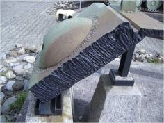 Part of the front armour of the Panzer VI Tiger II Ausf. B and its 150 mm of thickness, courtesy @caraktere
