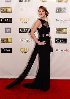 Jennifer Lawrence in Prabal Gurung Critics' Choice Awards