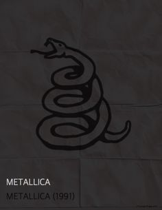 Metallica (Black Album) by Minimalist Pulse Art