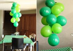 Salty Pineapple: BALLOON CHANDELIER. Fun for party decoration