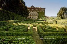 "italianways: ""Vignanello Castle, in the province of Viterbo, Lazio, Italy. Italian Garden, Italian Villa, Travel Around The World, Around The Worlds, Formal Gardens, The Province, Best Places To Travel, Landscape Architecture, One Pic"