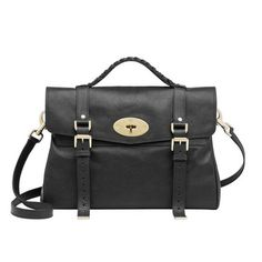 Or maybe this bag: Mulberry Oversized Alexa in Black Soft Buffalo