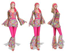 Full Perm MI Boho Outfit FITMESH - Slink - Belleza - Maitreya - Classic ca11f288c