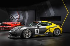 Porsche Cayman GT4 - Racing #porschecaymangt4