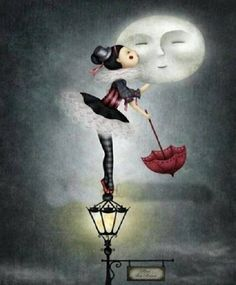 kiss the moon goodnght