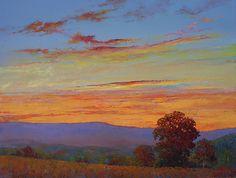 Night Light by Dennis Heckler Oil ~ 18 x 24