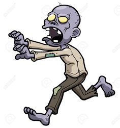 Zombie Cartoon Cliparts, Stock Vector And Royalty Free Zombie ...