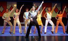 """A dança do filme """"Saturday Night Fever""""."""