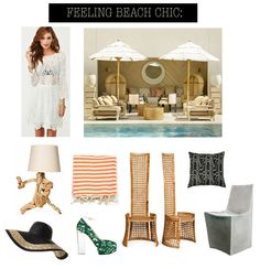 beach chic: maple and shade