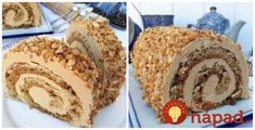 Archívy Recepty - Page 20 of 800 - To je nápad! Czech Desserts, Cookie Desserts, Sweet Desserts, Sweet Recipes, Cheesecakes, Vanilla Cake, Nutella, Food To Make, Food And Drink