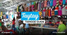 Taytay Tiangge Shopping Guide: How To Get There, Best Time To Go, And What To Buy - eCompareMo To Go, How To Get, Corporate Attire, Instagram Worthy, Kpop Outfits, Comfortable Outfits, Christmas Shopping, Wholesale Clothing, Tourism