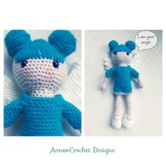 Babette Angel Doll Free Tutorial By AnnooCrochet Designs