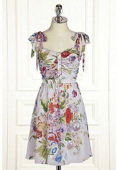 Anthropologie Summer Twilight Dress Size 10