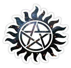 """""""Supernatural Galaxy """" Stickers by iSharnie 