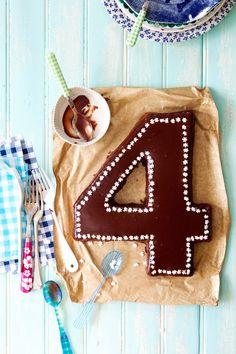 Gluten free chocolate birthday cake.