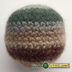 Free Pattern - Simple crochet balls