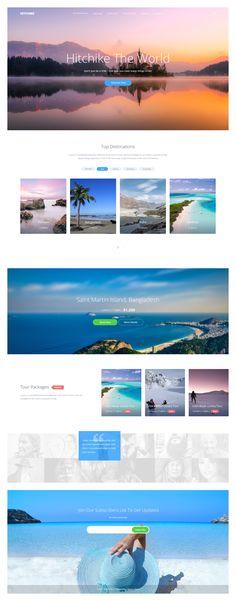 Hitchike realpixels Marketing Websites, Web Layout, User Interface Design, Travel Design, User Experience, Web Design, Design Web, Website Layout, Website Designs