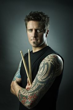 Daniel Adair-Nickelback MUSICIANS by Mike Campau, via Behance