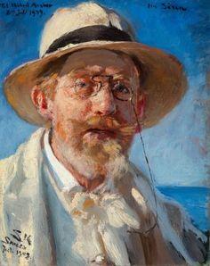 Selvportræt P.S. Krøyer (1851 - 1909) | Skagens Kunstmuseer