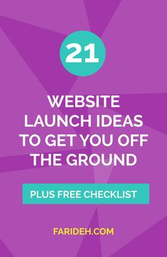 """Want to spark some interest *before* your website goes live? I've been asked MANY times and I see it in FB groups everywhere: """"How do I launch my website?""""  Letting your target market know what you're up to now is a great way to build buzz for a more succ"""