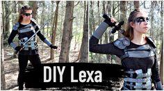 DIY Commander Lexa Costume- The 100 Cosplay Tutorial   Natasha Rose