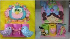 Para mantener ordenados los colores de los pequeños o cualquier cosa que quieras basta con guardar algunas latas de buen tamaño y decorarlas...