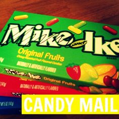 Candy Mail + A Giveaway