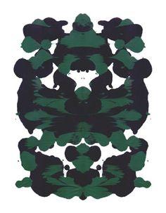 Rorschach Test as Art