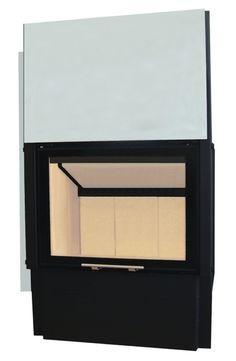 Wkład kominkowy Volcano v1vtH   Wymiar Drzwi 660x510 mm Moc Nominalna 14 kW #stove #fireplace #fireside #ogrzewanie #kominek #piec