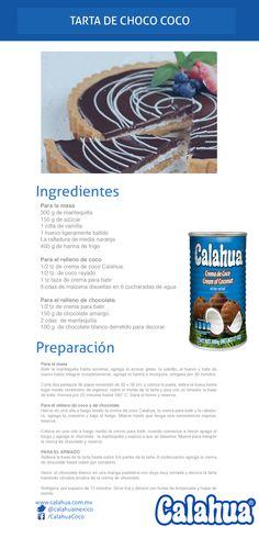 Siempre nos llevaremos bien con el chocolate, como en esta Tarta Choco-Coco (hecha con crema de coco #Calahua)