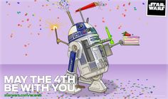 Happy Star Wars Day.  May the 4th be with you.  #StarWarsDay