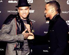 Chris and Trey