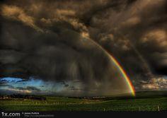 double rainbow over joplin missouri