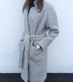 ganni belted coat - Google-haku