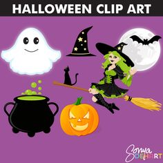 Halloween Clip Art :: Clip Art :: Commercial Use :: Aimee Asher Boutique