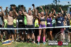 Spartans!  AROO! AROO! AROO!  #Fitness #Fun #Motivation