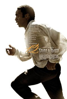 12 Years a Slave poster + trailer