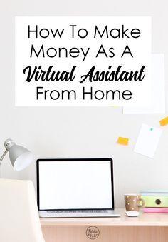 How to Make Money as a Virtual Assistant via   Natalie Bacon